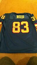 Andre Reed Buffalo Bills Signed Xl Blue Football Jersey Nfl Hof