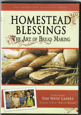 HOMESTEAD BLESSINGS The Art Of Bread Making DVD (2009) West Ladies NEW #10