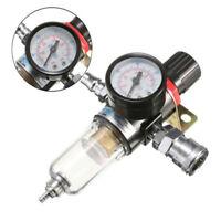 1 Pz Compressore Aria Acqua Olio Regolatore Filtro Manometro Umidità Trap