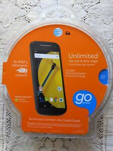 Motorola Moto E AT&T (No-Contract) brand new and sealed