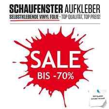 """++Aufkleber Folie """"Splash"""" Neueröffnung Sale Button Schaufenster Beschriftung++"""