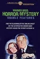 WARNER BROS. HORROR/MYSTERY DOUBLE FEATURES NEW REGION 1 DVD
