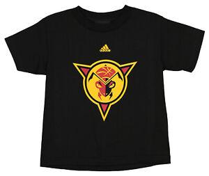 Adidas NBA G League Kids Fort Wayne Mad Ants Team Logo Tee Shirt, Black