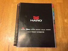 2017 Haro Bikes Product Info Catalog Dealer Book - Masi Del Sol Premium