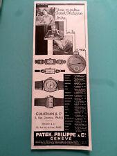publicités ancienne MONTRE  PATEK.PHILIPPE N5