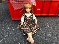 Heidi Plusczok Porzellan Puppe 67 cm. Top Zustand