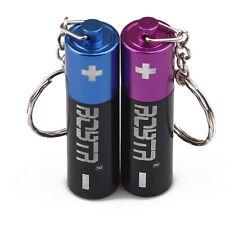 Mini Battery Smoking Metal Pipe Herb Tobacco Pipes Accessory w/ Lid Random Color