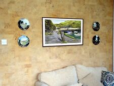 BOSCASTLE HARBOUR. a painting full of Cornish history & memories by Johann Konig