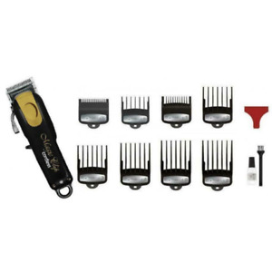 Wahl Cord/Cordless Magic Clip Clipper - Black & Gold Professional Hair Clipper
