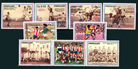 PARAGUAY SOCCER WORLD CUP Michel # 3977/83 Complete Set, Mint No Hinged