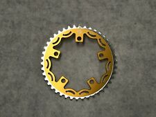 Snap BMX Products Series II 110mm 5 bolt Chainring - 42t Gold