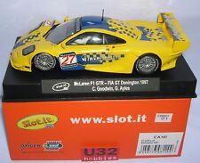Slot.it McLaren F1 GTR No.27 Donnington 1997 Sica10l