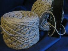 10 x 100g New 'PEBBLE' Wool. 1,450m Bulk Knitting Weaving Rug Carpet Yarn.7-2733