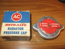 NOS AC RC 109 861853 Radiator Cap De Soto Nash Edsel Studebaker Dodge Plymouth