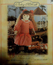 """Vtg 90s Adorable Betsy McCall 18"""" Doll Pattern w/ Clothes One Size McCall's 7933"""