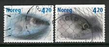 Norway Q40 used 2000 Fishing mackerel herring 2v
