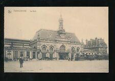 France VALENCIENNES La Gare railway station  Feldpost 1916 PPC
