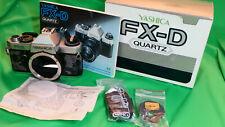 Yashica FX-D Quartz  Body - funktionfähig  in Original Verpackung mi Zubehör