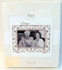 Fetco Home Decor 6 x 4 Mom 2004 Pewter Frame
