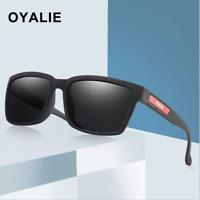 Men Women Polarized Sport Sunglasses Driving Night Vision Outdoor Square Glasses