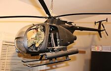 ULTIMATE SOLDIER AH-6 LITTLE BIRD  HELICOPTER 1:6 Store Display Version