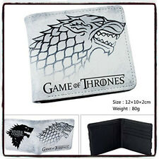 NEW Game of Thrones White Direwolf Wallet Winter is Coming - Stark *UK STOCK