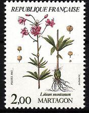 FRANCE TIMBRE NEUF  N° 2267  ** FLORE MARTAGON LILIUM MONTANUM