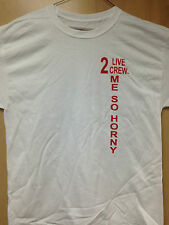 """2 Live Crew """"ME SO HORNY"""" T-Shirt - FREE POSTER WITH EVERY ORDER"""