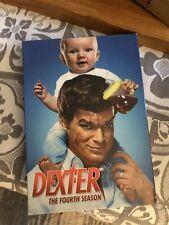 Dexter: The Fourth Season (DVD, 2010, 4-Disc Set)