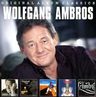 WOLFGANG AMBROS - ORIGINAL ALBUM CLASSICS  5 CD NEU