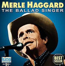 Ballad Singer Haggard, Merle Audio CD