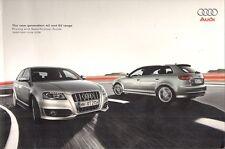 Audi A3 S3 3-dr & Sportback 2008-09 UK Market Sales Brochure SE Sport S Line
