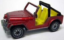 Siku Jeep Wrangler CJ-5 1058 rot metallic 1053