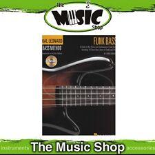 New Hal Leonard Bass Method: Funk Bass Guitar - Book & CD