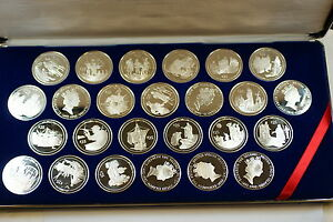 1992 $25 British Virgin Islands 500th Anniversary Proof (25) Coin Set- in Case