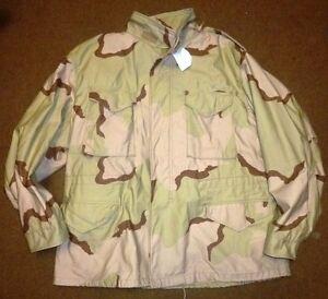 Orig. U.S. M65 Fieldjacket (Feldjacke/Parka) desert camouflage