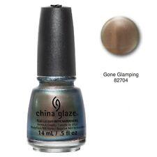 China Glaze Nail Lacquer Hardener Nail Polish Gone Glamping 0.5 fl oz