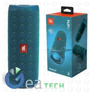 JBL Flip 5 ECO Edition Speaker BLUETOOTH Portatile Cassa Altoparlante OCEAN BLU