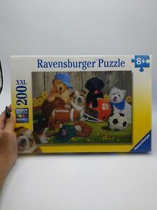 Ravensburger Puppy Dog Let's Play Ball 200 XXL PCS Jigsaw Puzzle Brand New