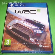 WRC 5 WORLD RALLY CHAMPIONSHIP NUEVO Y PRECINTADO PAL ESPAÑA PLAYSTATION 4 PS4