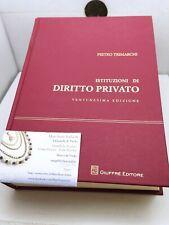 Istituzioni di Diritto Privato Trimarchi 9788814215674