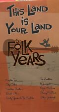 This Land Is Your Land VHS Tape. The Folk Years