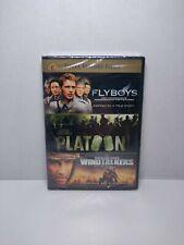 Flyboys / Platoon / Windtalkers (Dvd, 2011, 3-Disc Set) Brand New Sealed