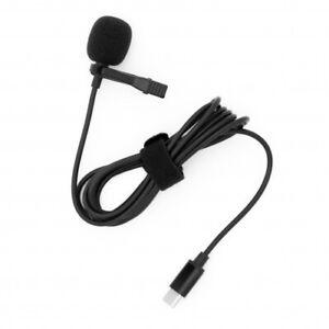 USB Typ C Mikrofon Lavaliermikrofon für Interview YouTube Videokonferenz Podcast