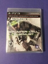 Tom Clancy's Splinter Cell Blacklist *Special Edition with Bonus DLC* (PS3) NEW