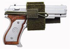 OD Green Universal Hook & Loop Holster BB Airsoft Pistol Hand Gun Tactical 236G