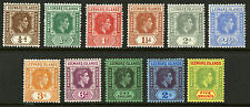 Leeward Islands  1938-51  Scott #103-115  Mint Very Lightly Hinged Set