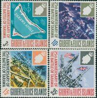 Gilbert & Ellice Islands 1968 SG150-153 Battle of Tarawa set MNH