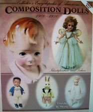Vintage Composition Dolls #1 BIG BOOK Price Guide Collector's Book
