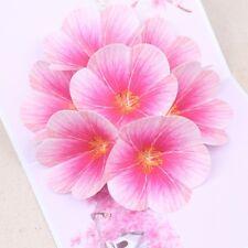 Handmade Peach Blossom Greeting Cards Birthday Wedding Invitation 3D Pop Up Card
